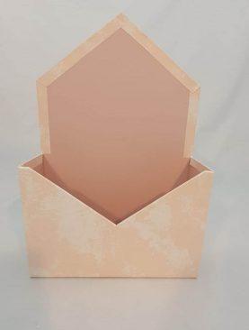 Cutie decorativa plic 20/30 (roz pal)
