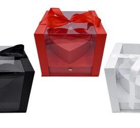 Cutie decorativa transparenta inima  (3)-14
