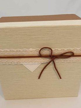 Set 3 cutii decorative (crem) 22-1 2 3 4