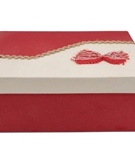 Set 3 cutii decorative (rosu/alb) (22)-4