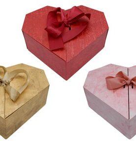 Cutii in forma de inima set 2 bucati 3-23