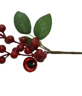 Pick Craciun flori rosii (50)-7