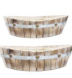 Set 2 cutii de lemn
