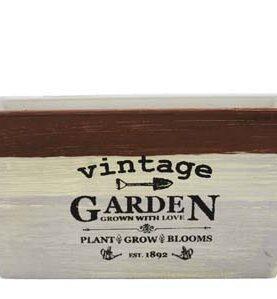 Ghiveci din plastic pentru flori - Vintage Garden1